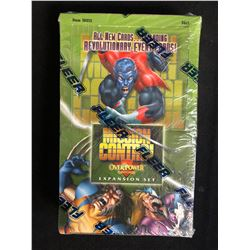 MISSION CONTROL OVERPOWER CARD GAME EXPANSION SET BY FLEER (SEALED BOX)