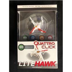 Quattro Click LiteHawk - 30FPS VIDEO-EQUIPPED DRONE