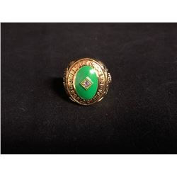 "1961 Green Bay Packers Team ""World Championship"" PAUL HORNUNG Replica Ring"