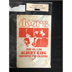 """THE DOORS"" ORIGINAL 1970 CONCERT HANDBILL"