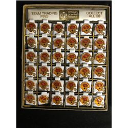 OFFICIAL NFL TEAM TRADING PINS (SAN FRANCISCO 49ers)