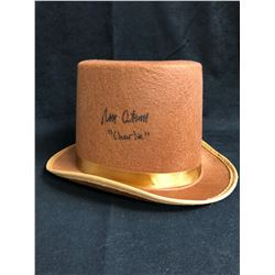 """Peter Ostrum Signed """"Willy Wonka & The Chocolate Factory"""" Hat Inscribed """"Charlie"""" (JSA COA)"""