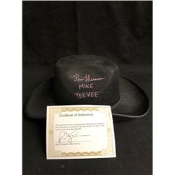 """""""Willy Wonka & the Chocolate Factory"""" Paris Themmen Signed Cowboy Hat"""