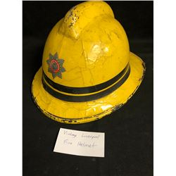 VINTAGE LIVERPOOL FIREFIGHTER HELMET