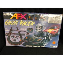 Tomy Afx Ghost Racer Set Aurora 17 1/2' Race Track w/ Box