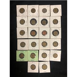 1930-60's WORLD COIN LOT