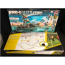 GAMES LOT (BATTLESHIP/ LADDERBALL SET)