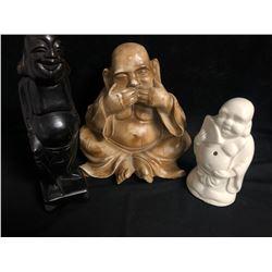 COLLECTIBLE BUDDHA STATUES LOT