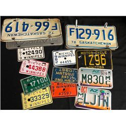COLLECTIBLE LICENSE PLATE LOT (VARIOUS PLATES)