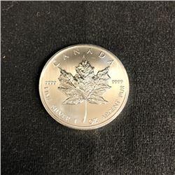 2012 CANADA 1oz .9999 Fine Silver Maple Leaf Coin