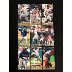 1994 FLEER EXTRA BASES BASEBALL CARD LOT