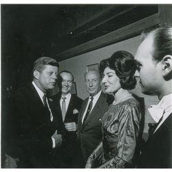 John F. Kennedy and Maria Callas Original Photograph