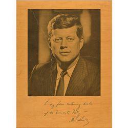 John F. Kennedy Democratic Donor Gifts