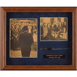 John F. Kennedy Peace Corps Bill Signing Pen