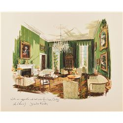 Kennedy White House Set of (3) Christmas Cards
