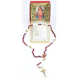 John F. Kennedy, Jr. Irish Horn Rosary