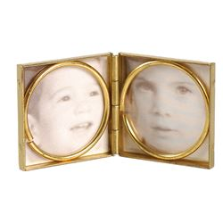 Jacqueline Kennedy's Gold and Mother-of-Pearl Photo Case