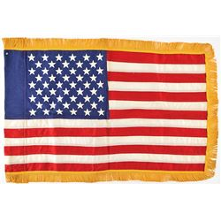 Kennedy Assassination: American Flag from Presidential Limousine
