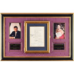 The Kennedy Legacy Signed Dallas Trade Mart Luncheon Invitation