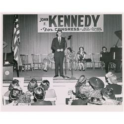 John F. Kennedy 1946 Congressional Campaign Original Vintage Photograph