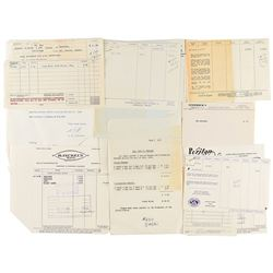 The Kennedy Family's Receipts