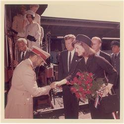 John and Jacqueline Kennedy Original Photograph