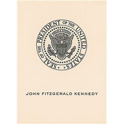 John F. Kennedy Personal Bookplate