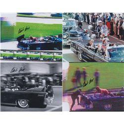 Kennedy Assassination: Clint Hill Signed Photographs