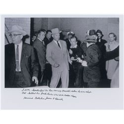 Kennedy Assassination: Jim Leavelle Signed Photograph
