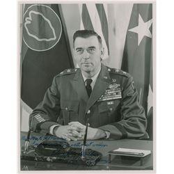 Edwin A. Walker Signed Photograph