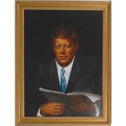 John F. Kennedy Painting