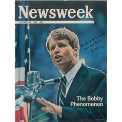 Robert F. Kennedy Signed Magazine Cover