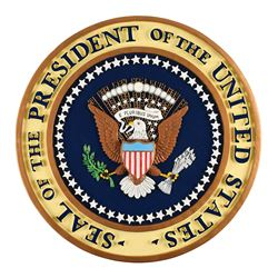 Presidential Podium Seal