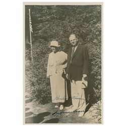 Herbert and Lou Henry Hoover