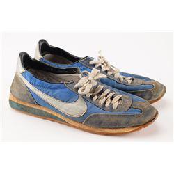 LIVE Boston: Sib Hashian's Studio-Used Pair of 'Kick Drum Nike' Running Shoes