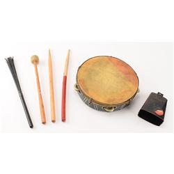 LIVE Boston: Sib Hashian's Tour-Used Percussion Equipment