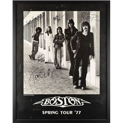 LIVE Boston: Sib Hashian's Band Signed Poster