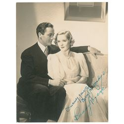 Mary Pickford and Buddy Rogers
