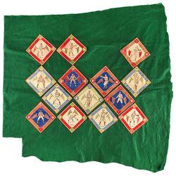 1914 B18 Baseball Felt Blankets