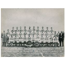 Philadelphia Eagles: 1949