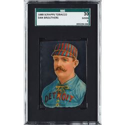 1888 Scrapps Dan Brouthers - SGC GOOD 2