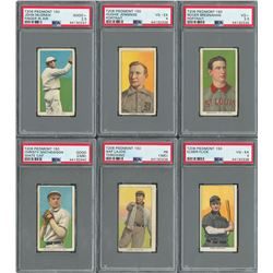 T206 Hall of Famer Collection (6) with Christy Mathewson