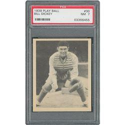 1939 Play Ball #30 Bill Dickey PSA NM 7
