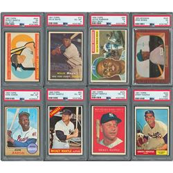 1939-72 Topps, Bowman and Others Shoebox Collection of Hall of Famers and Superstars (350+)