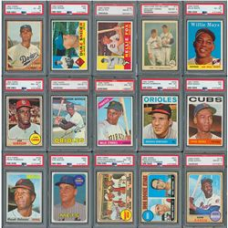 1950's-80's Hall of Famer and Star Collection of (500+) with (32) PSA Graded