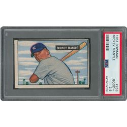 1951 Bowman Complete Set of (324) Cards with(6) PSA Graded