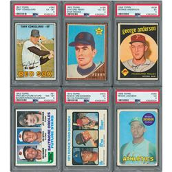 1959-1980s Baseball Superstar Card Collection (49) with Six PSA Graded