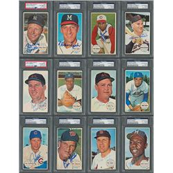 1964 Topps Giants Near Complete Set (54/60) - all PSA/DNA Authenticated