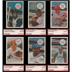 1970 Kellogg's Baseball Complete HIGH GRADE Set of 75 Cards - NM/MT to MINT