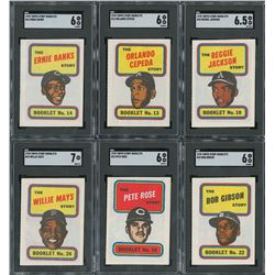 1970 Topps Story Booklets SGC Graded Complete Set (24)